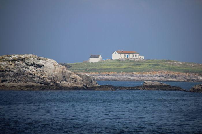 Brittany Glénan Islands Islands Beach Glénans Horizon House Rock - Object Sea Sky Water