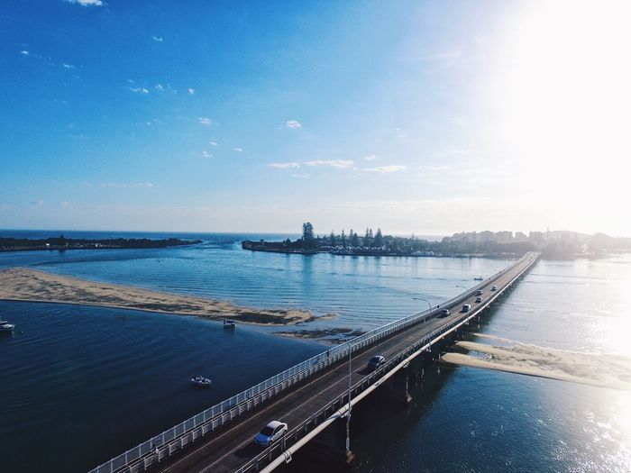 Forster | Tuncurry Beach Ocean Drone  Dronephotography Tourismnsw Forster Nsw Tuncurry Forster Sunrise Sea Water Sky Nautical Vessel Transportation Outdoors Nature No People Beauty In Nature Horizon Over Water Scenics Day Architecture