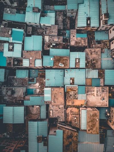 Full frame shot of houses