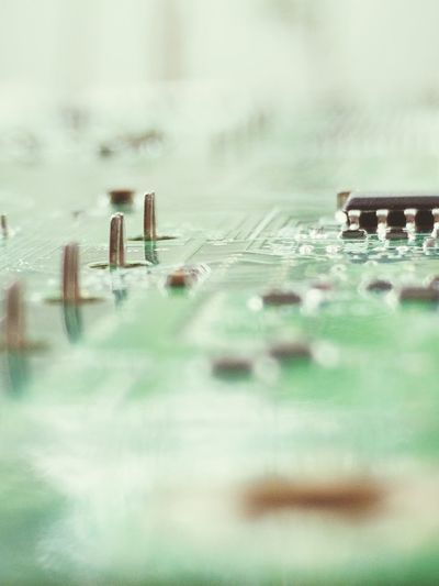 Close Up Technology Circuit Board Selective Focus Close-up Mother Board Slot Electronic Computer Mother Board CPU Motherboard Mainboard Diagrams Technology Spider Backgrounds