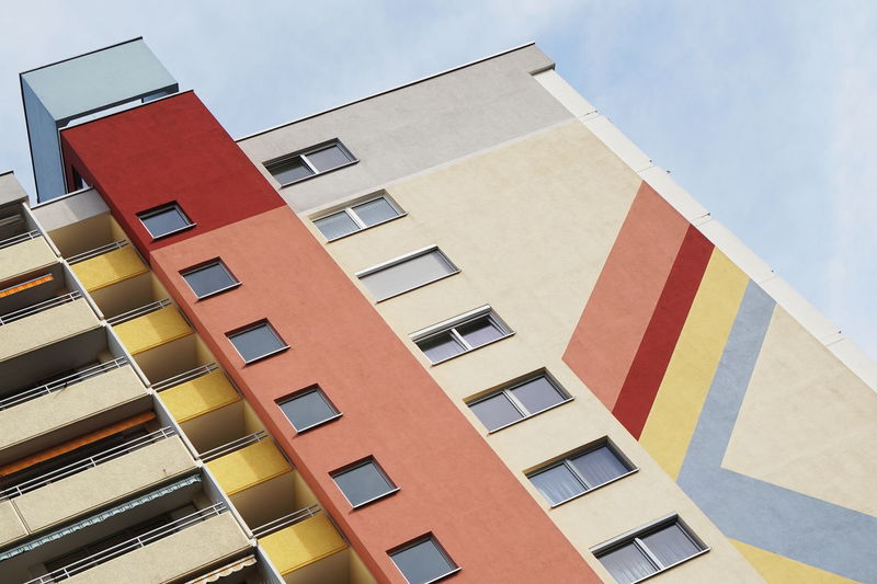 Architecture Building Exterior Built Structure Building Low Angle View Day Façade Colors color palette