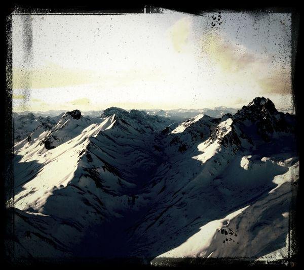 Heaven Snow Mountain