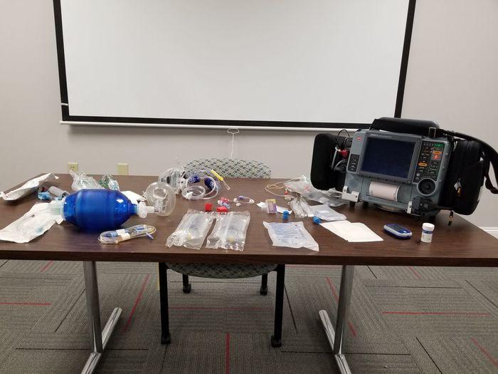 emt training Inservice Emt Class EMS Class Paramedic Paramedic Class Paramedic Test Emt Test Emt Equipment Emt Supplies EMS Supplies Ambulance Tech Technology Table