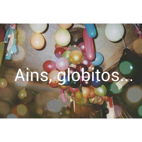 Ains globitos... Globos L átex Air Helio colors mix vintage random pale soft grunge