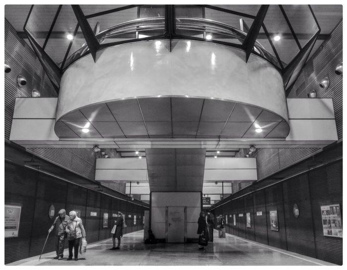 Arquitecture Subway Blackandwhite Canon PowerShot G1 X