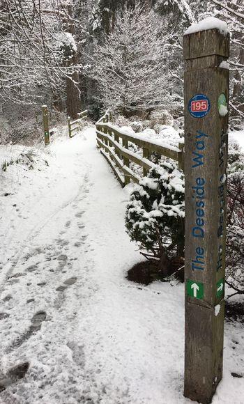 Aboyne Snow Aberdeenshire Deeside Way 3XSPUnity 3XSPhotographyUnity 3XSPUnity 3XSPhotographiUnity