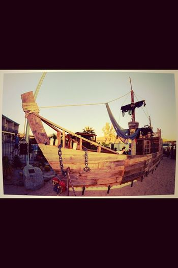 Reclaimed lumber pirate ship :-) California Pirate Ship Reclsimed Wood Play House Fun