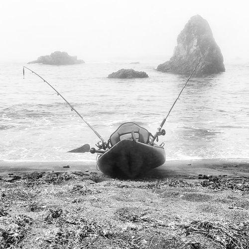 Mendocino Coast Kayak Fishing Enjoying Life Nature
