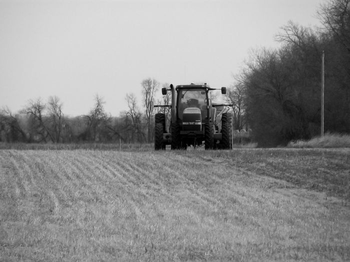 Tractor in the