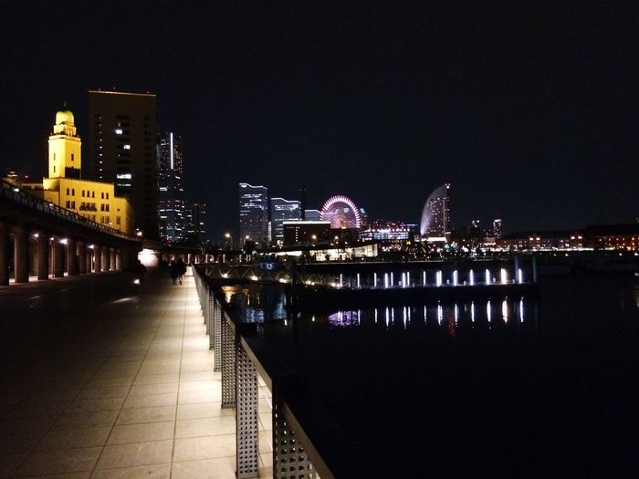 Urban Landscape Night Lights Enjoying Life IPhoneography Discover Your City Minatomirai Twilight Yokohama Japan