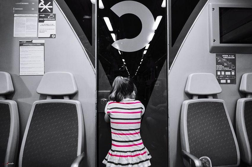 Children Only Child Madrid ❤ City Street Madrid,spain Taking Photos Madrid Madridgrafias Madrid, Spain Urban Scene Black And White B&w Street Photography Splash Of Colour