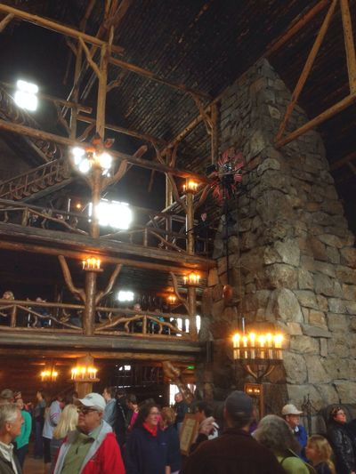 Old Faithful Lodge what a grand building Enjoying Life Nice Atmosphere Check This Out Beautiful Surroundings