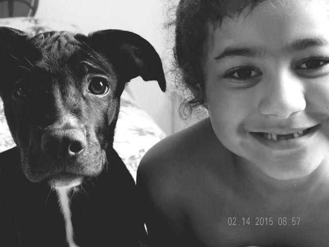 Betina & Yasmin My Live ❤ My Love❤ I Love My Dog