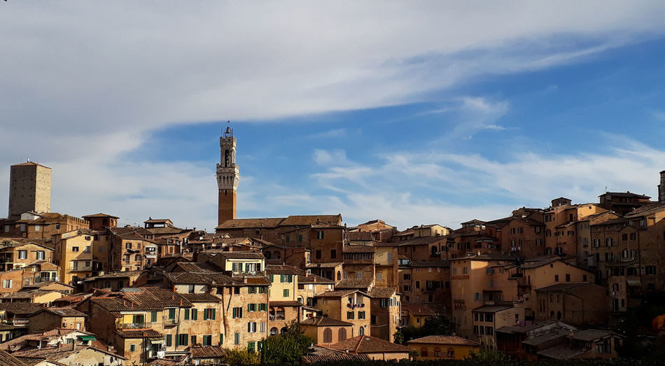 Siena Photography Photooftheday City Europe Italy Siena Travel Way Landscape City Urban Skyline Sky Architecture Building Exterior Cloud - Sky Historic Civilization