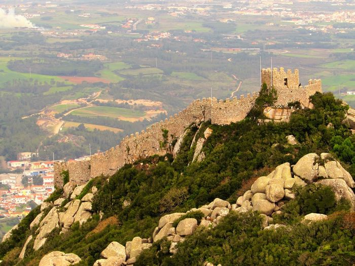 Castelodosmouros Castle History Old Ruin Portugal Portugal History Sintra Tourism