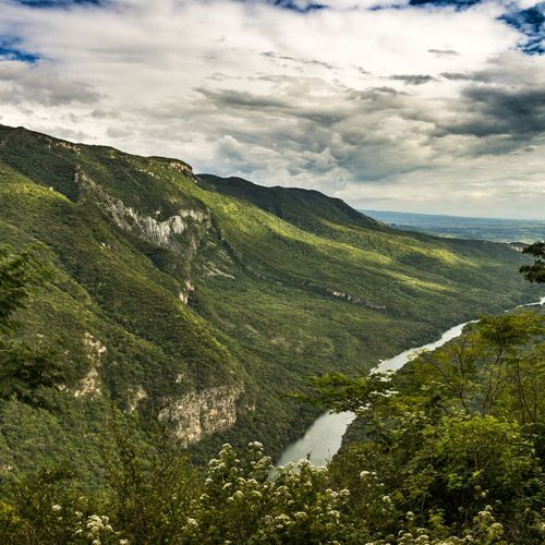 The Canyon's end Beauty In Nature Relaxation No People EyeEm Nature Lover Non-urban Scene Tranquil Scene Nature Clouds And Sky Trip Outdoors Mexico HDR Travel Colors Travelling Landscape Mountains Mountain Majestic