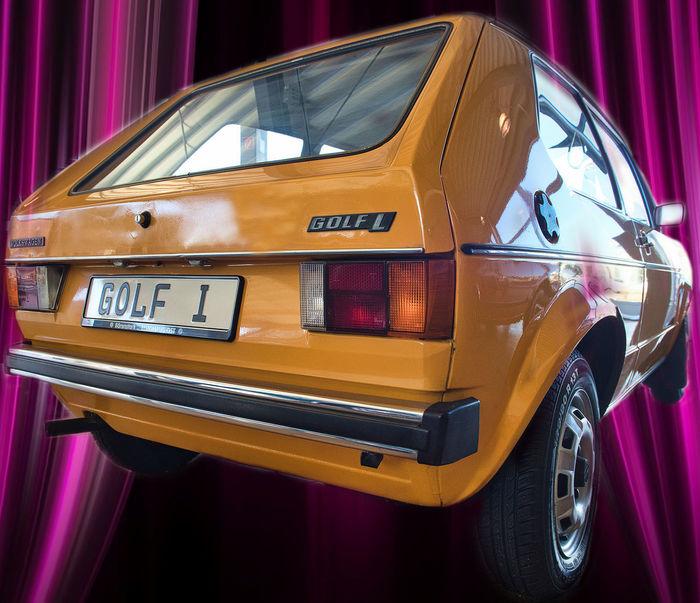 VW Car Golf1 Mode Of Transport Oldtimer Retro Styled Transportation Vw Golf