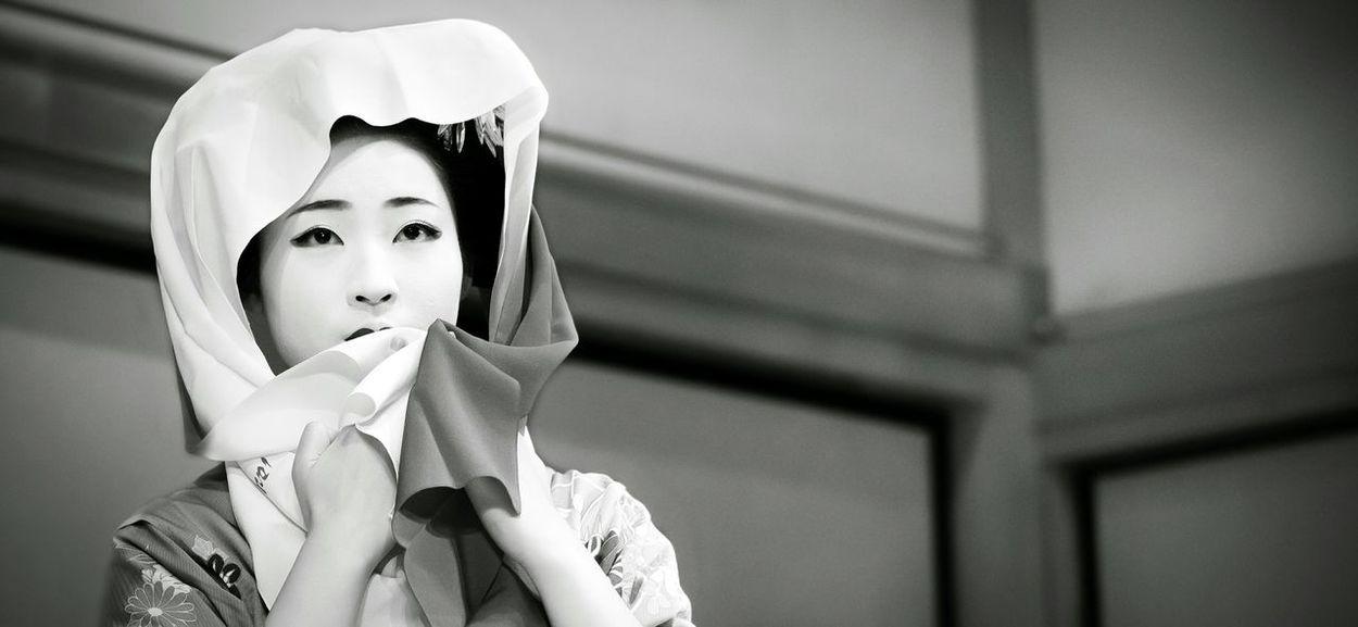 Girl Kioto One Girl Only Portrait Indoors  Beauty Canon Canonphotography Human Face Indoors  Fotografiadeviajes Japon Kioto