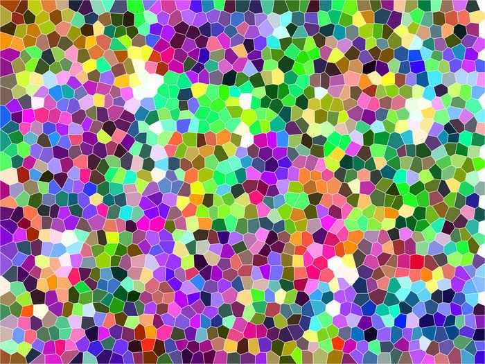 Full frame shot of abstract pattern on tiled floor