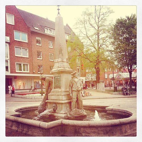 Springbrunnen am Stadtgarten Emden