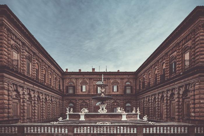 Boboli Florence Italy Architecture Boboligardens Building Exterior City Palazzo Pitti Pitti