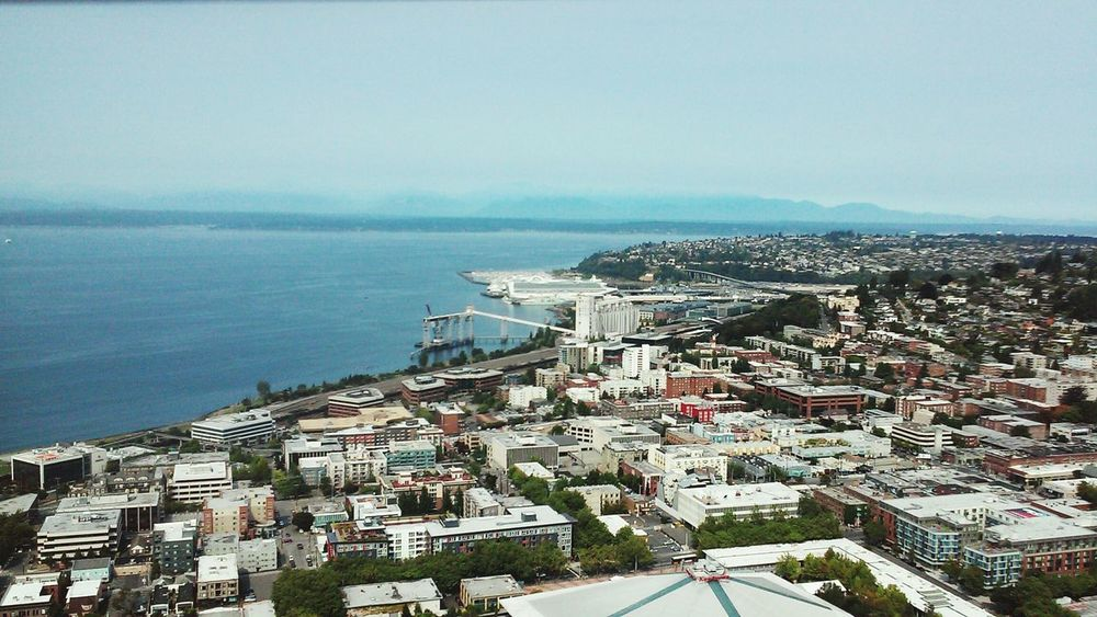 Viewfromthetop Spaceneedle Beautifulcity Seattle Vacation2015 Lovethisplace Freshair