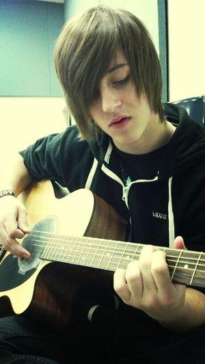 My Boyfriend Playing Guitar