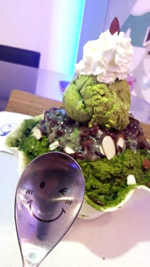 Bingsu Ice Cream Relaxing Smile SuparGusCollection