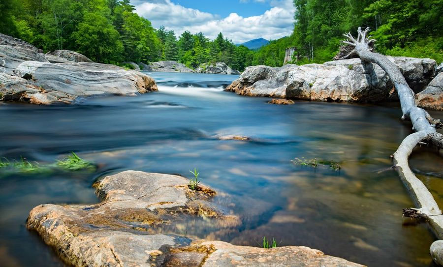 Nature Water Landscape Beauty In Nature Outdoors Tranquility Scenics Rocks Flowing Water Waterfront Long Exposure White Mountain National Forest White Mountains New Hampshire The Great Outdoors - 2017 EyeEm Awards Landscape_Collection River Riverside EyeEm Nature Lover Waterfall Scenery Motion Nature_collection Springtime Tranquil Scene