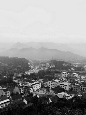 The Places I've Been Today Blackandwhite Landscape RobertEkbergTallberg Chongqing