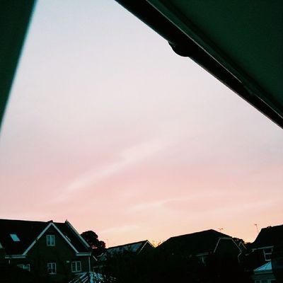 The sky's peach ?