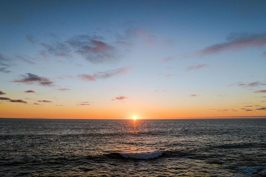Beauty In Nature Cloud Cloud - Sky Horizon Over Water Majestic Non-urban Scene Ocean Ocean View Ocean Views Orange Color Pacific Scenics Sea Seascape Sky Stille Oceaan Sun Sunset Sunsetting Sunsetting On Water The Pacific The Pacific Ocean Tranquil Scene Tranquility Water