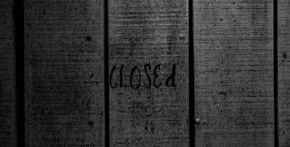 closed Closed