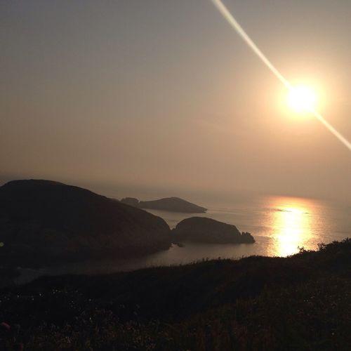 渔山岛的日出
