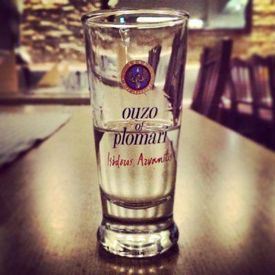 Greek Ouzo... Cheers!