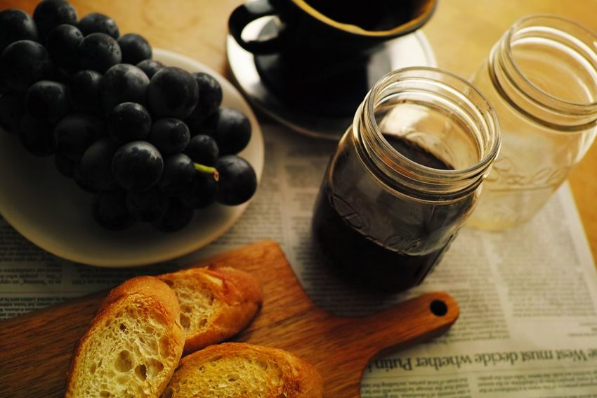 Coffee At Home Breakfast Onthetable Masonjar Morning Coffee Food Foodphotography Open Edit