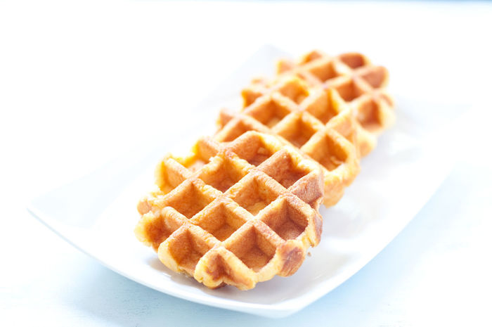 Baked Breakfast Close-up Dessert Focus On Foreground Food Freshness Indulgence No People Ready-to-eat Selective Focus Serving Size Still Life Sweet Food Temptation Waffle