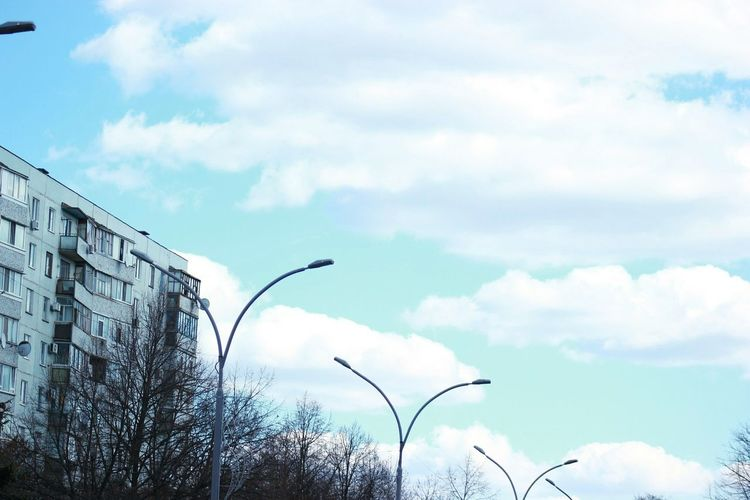 Nofilter Sky Cloud - Sky No People Nature Building City Skyline Outdoors Day Ukraine 💙💛