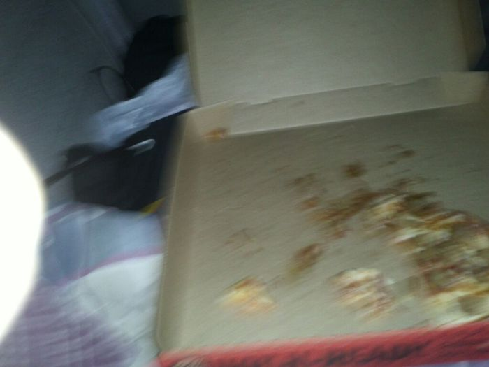 Just Killed  That Pizza