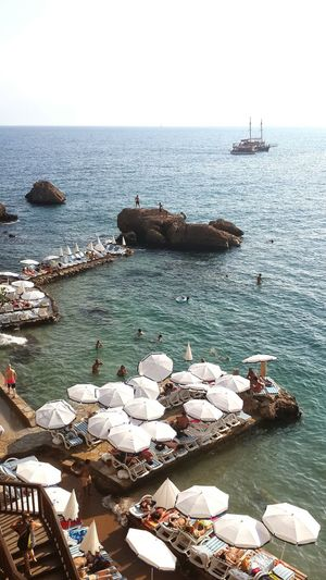 Antalya Kaleiçi Mermerliplajı Mermerlibeach Naturalpool 06.08.14