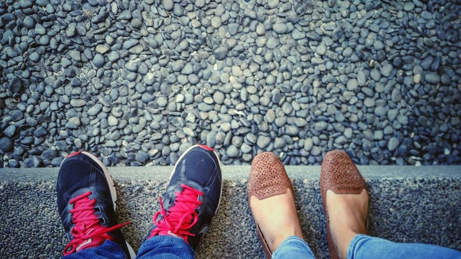 Pebbles And Stones Edge Shoes Deep Hanging Out With My Aunt