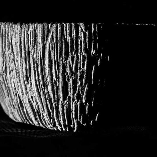 Plant pot, side lit to bring out the detail. Pot Monochrome Mono Blackandwhite Black And White Black & White Sidelight Texture Detail Light And Shadow