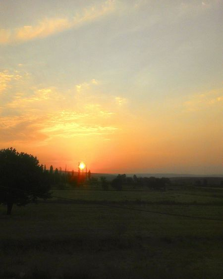 Sunset Sun View
