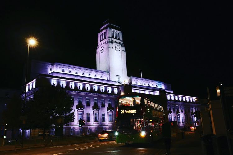 Night Architecture Illuminated Building Exterior Built Structure City Sky