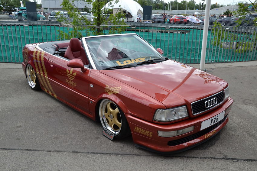 Audi Audi Tuning Cabriolet Day Outdoors Raceism 2016 Tuning Cars Wroclaw, Poland