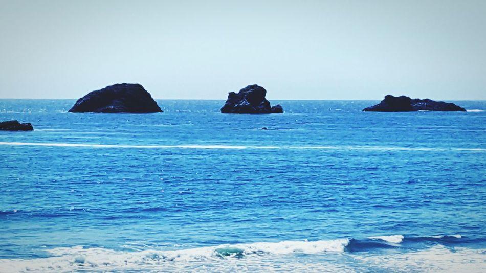 West Coast No People Ocean Coastline Blue Beauty In Nature Water OutdoorsMajestic Tranquil Scene Waterfront Horizon Over Water Cloud - Sky