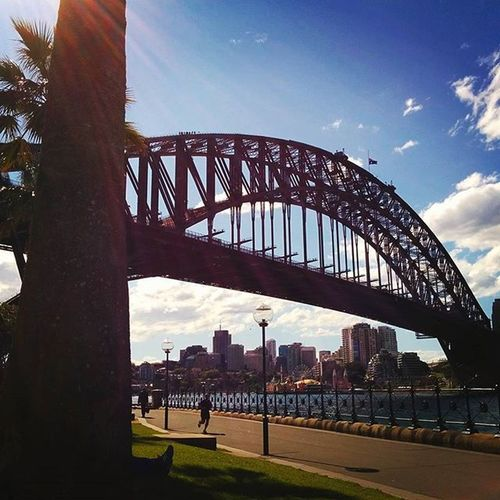 Stop, appreciate and smile. Because life is nothing more than a journey. - 7th September 2015 Sydneysights Harbourbridge Appreciatelife