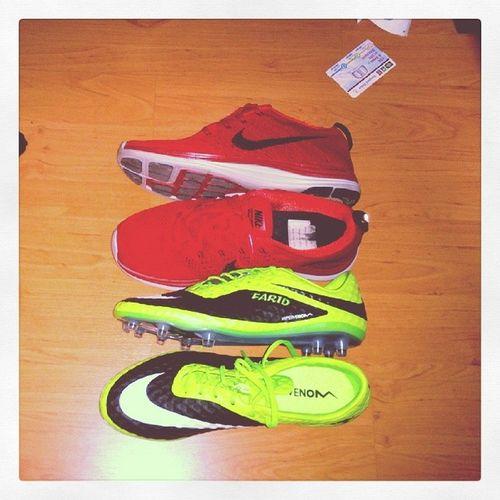 Nike. That's all. JustDoIt NikeRun Nikefootball Hypervenom footyboots