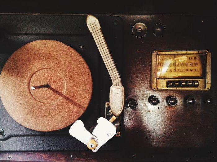 Showcase March Vintage record player and radio Fine Art Photography