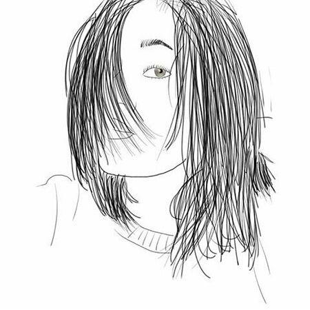 Meeee Draw That's Me Beautiful Nice Paint Hi! Hello World Art Face Hair